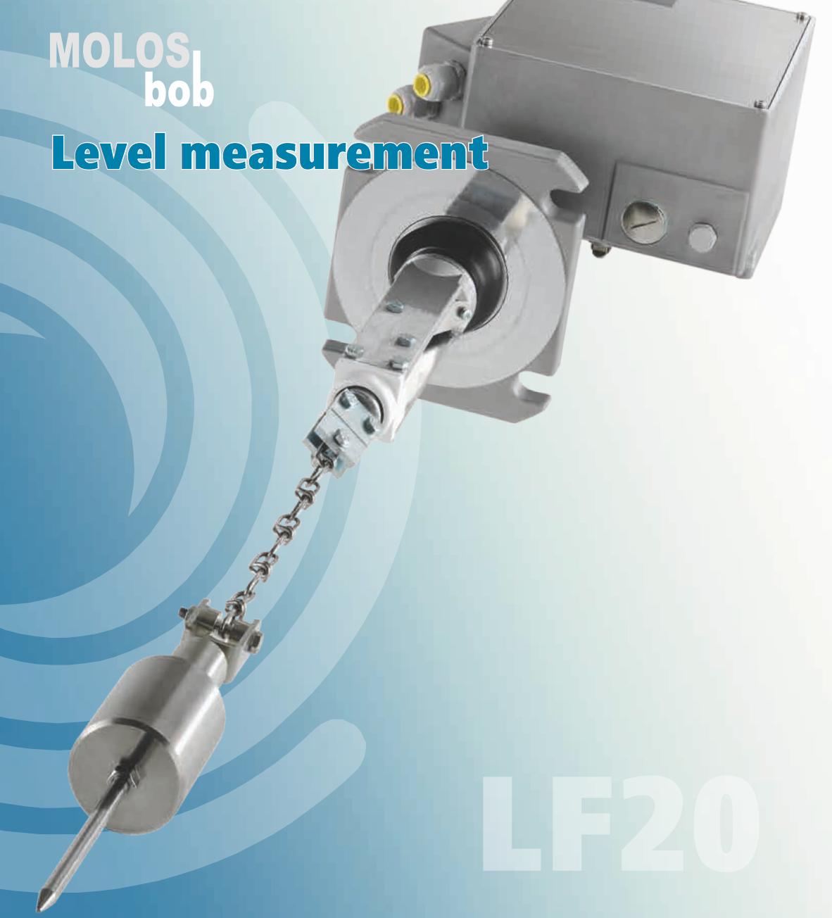 cảm biến đo mức chất rắn mollet LF20