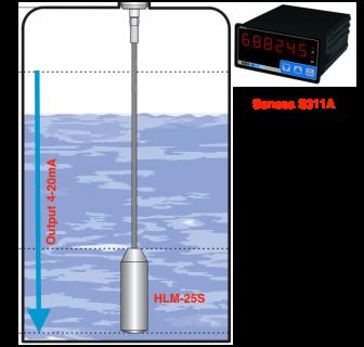 Cảm biến báo mức nước thủy tĩnh