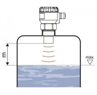 cảm biến đo mức chất lỏng liên tục bằng siêu âm