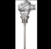 cảm biến nhiệt độ pt100 3 dây head mounted