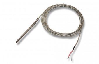 cảm biến nhiệt độ Pt100 3 dây loại dây không có ren
