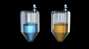 cảm biến đo mức liên tục chất lỏng bằng điện dung