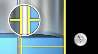 nguyên lý cảm biến điện dung chất lỏng dẩn điện