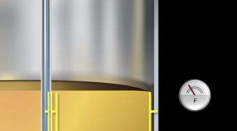 nguyên lý cảm biến điện dung chất lỏng không dẩn điện
