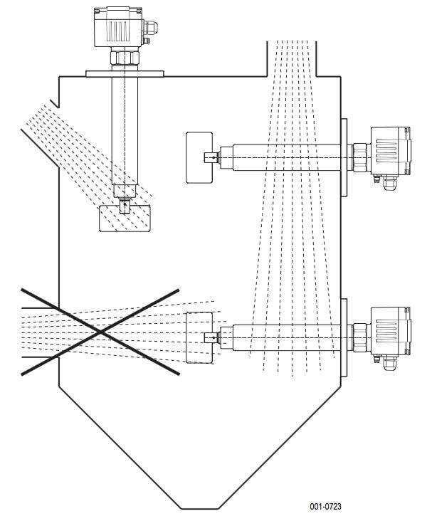 cách lắp đặt cảm biến báo đầy báo cạn cánh quay DF24