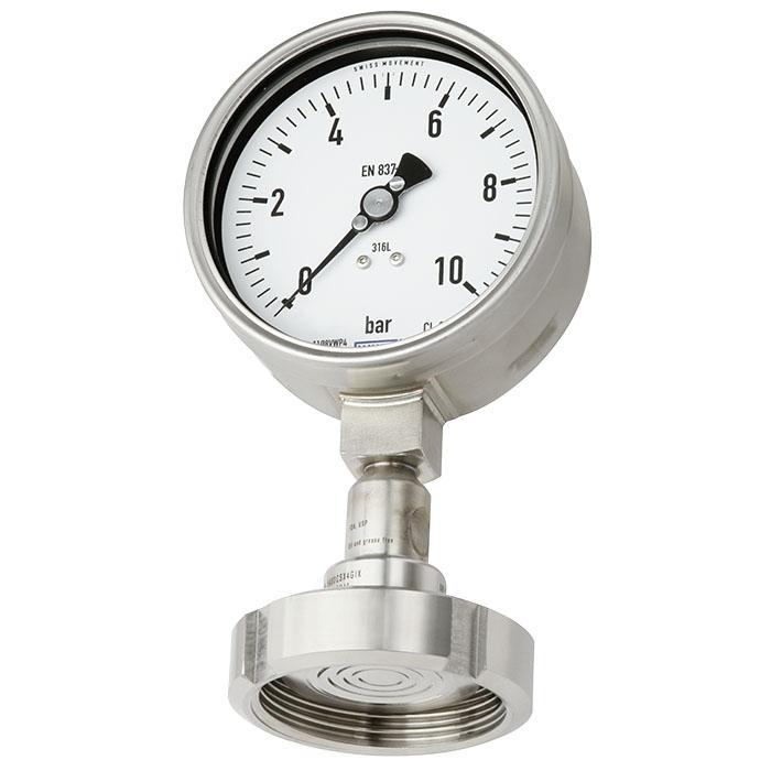 đồng hồ đo áp suất màng DN40