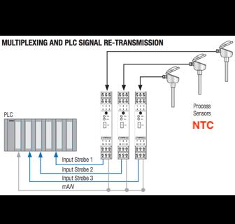 bộ chuyển đổi nhiệt độ NTC 10K