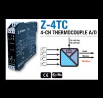 bộ chuyển đổi nhiệt độ 4 kênh ra modbus Seneca Z-4TC