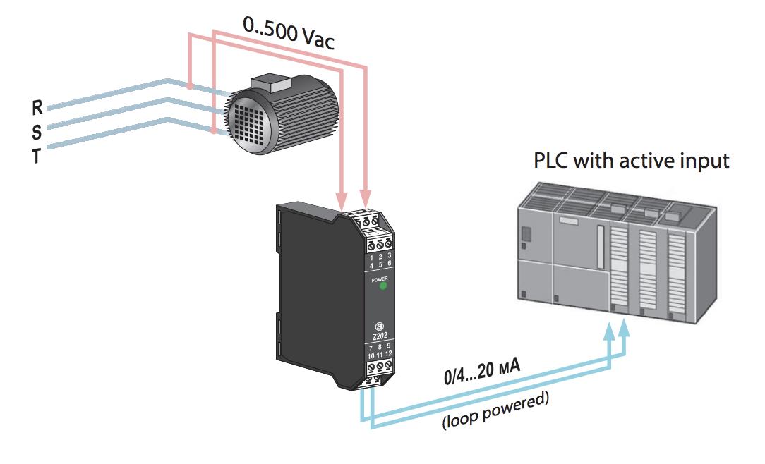 bộ chuyển đổi điện áp nguồn Z202-LP