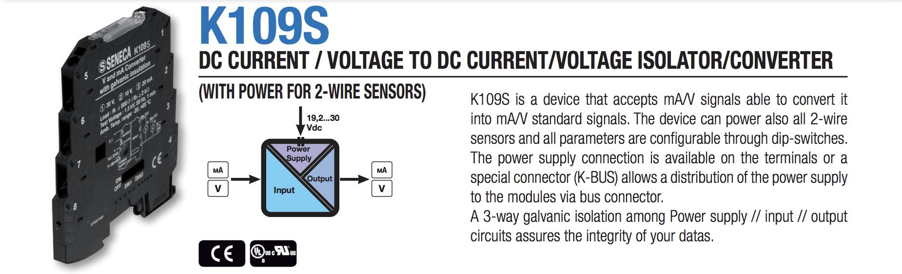 bộ chuyển đổi tín hiệu K109S