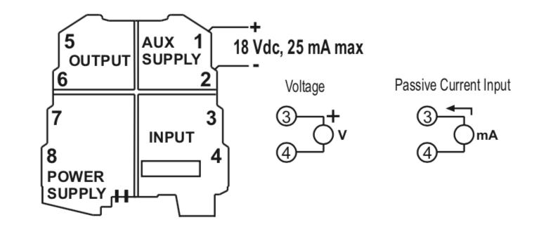 cách kết nối tín hiệu ngõ vào K109S