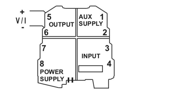 cách kết nối tín hiệu ngõ ra bộ chuyển đổi K109S