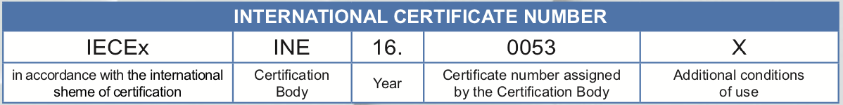 tiêu chuẩn IECEx