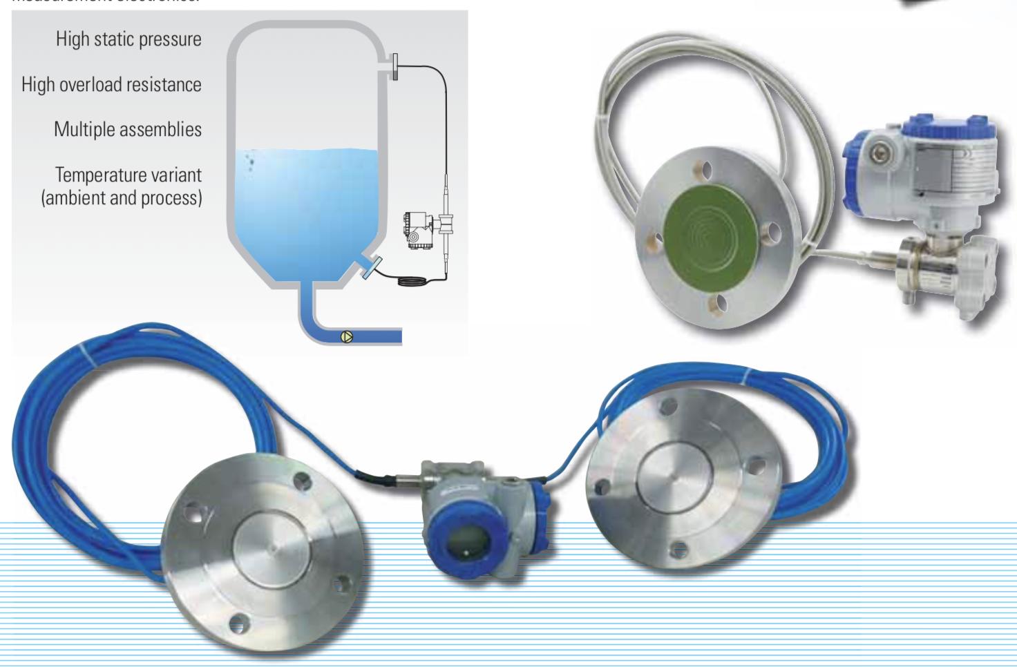 ứng dụng cảm biến chênh áp màng