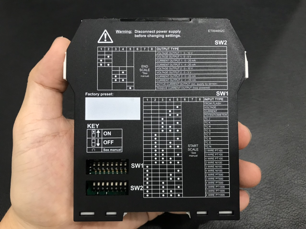 cài đặt input - output Z170REG-1