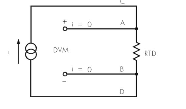 cảm biến nhiệt độ 4 dây