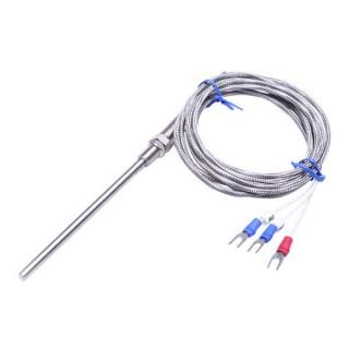 cảm biến nhiệt độ Pt100 3 dây loại dây kết nối ren