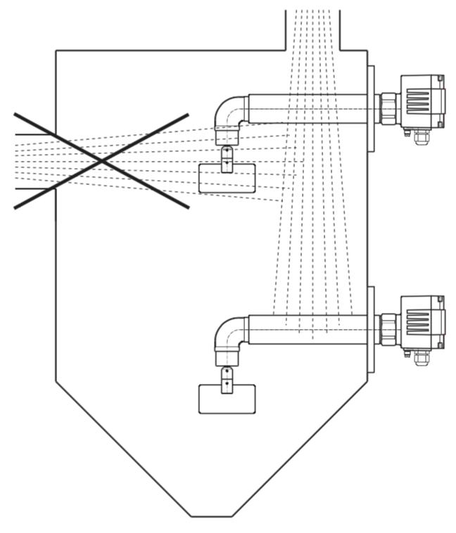 cách lắp đặt cảm biến báo cạn xi măng DF25