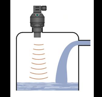 ứng dụng cảm biến đo mức siêu âm 0-1m