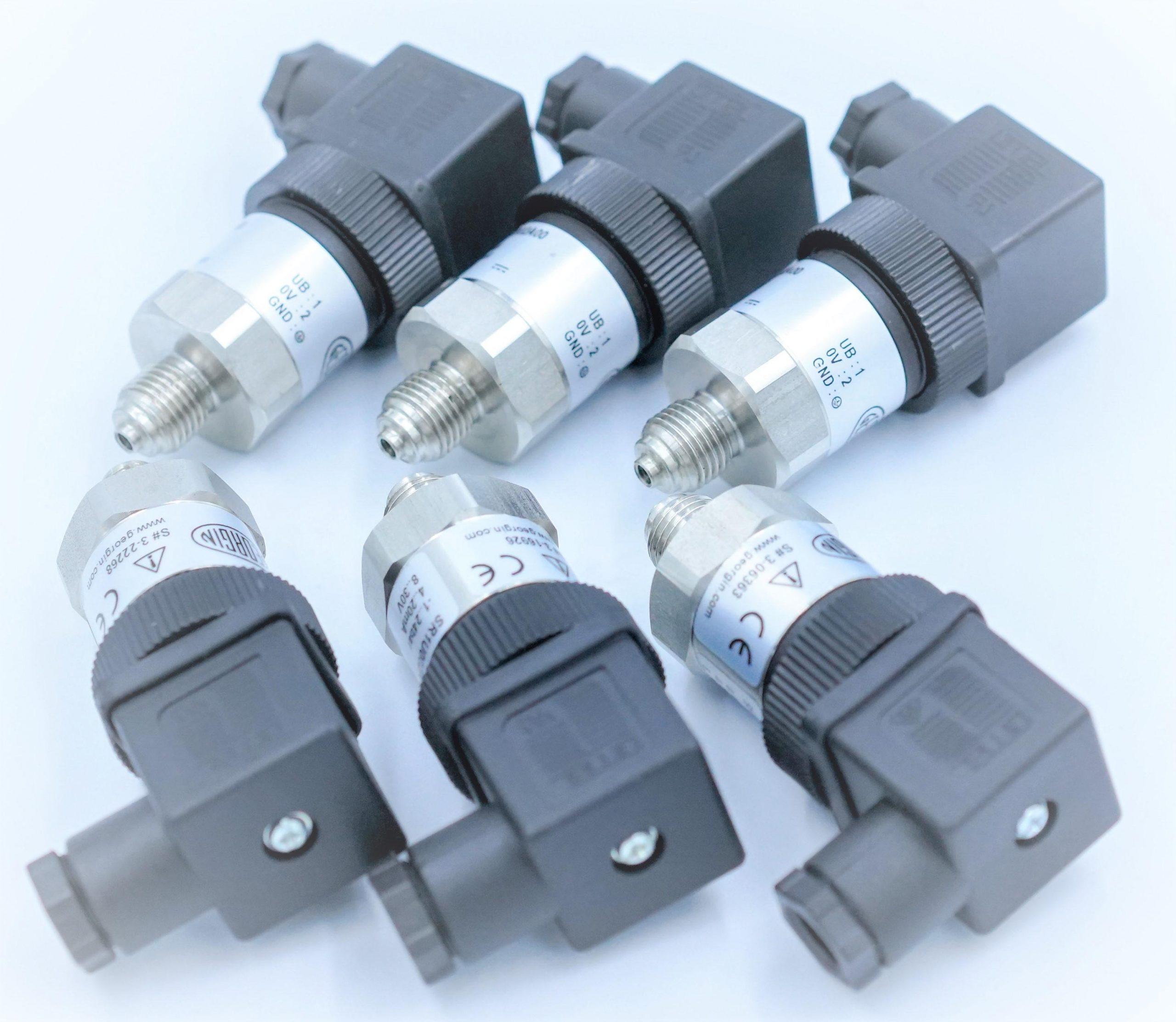 Cảm biến áp lực nước Georgin - SR1 | Tín hiệu ngõ ra 4-20mA - 2 dây truyền về PLC