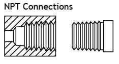 Kiểu kết nối ren NPT – Mỹ