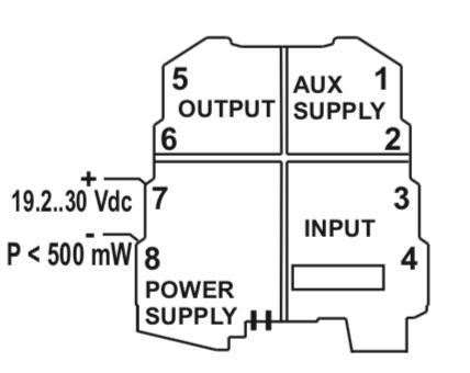 cách kết nối nguồn nuôi cho Seneca K109S