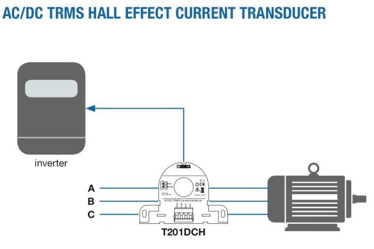 ứng dụng biến dòng analog 4-20mA T201DCH300-LP