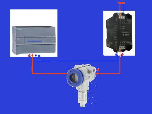 cách đấu dây cảm biến áp suất với plc