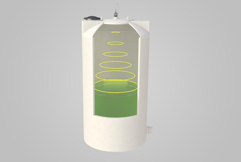ứng dụng cảm biến đo mức nước bằng sóng siêu âm
