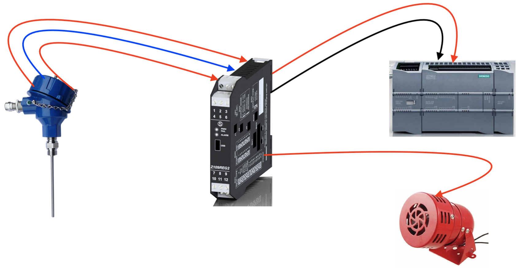 bộ chuyển đổi nhiệt độ pt100 Z109REG2-1