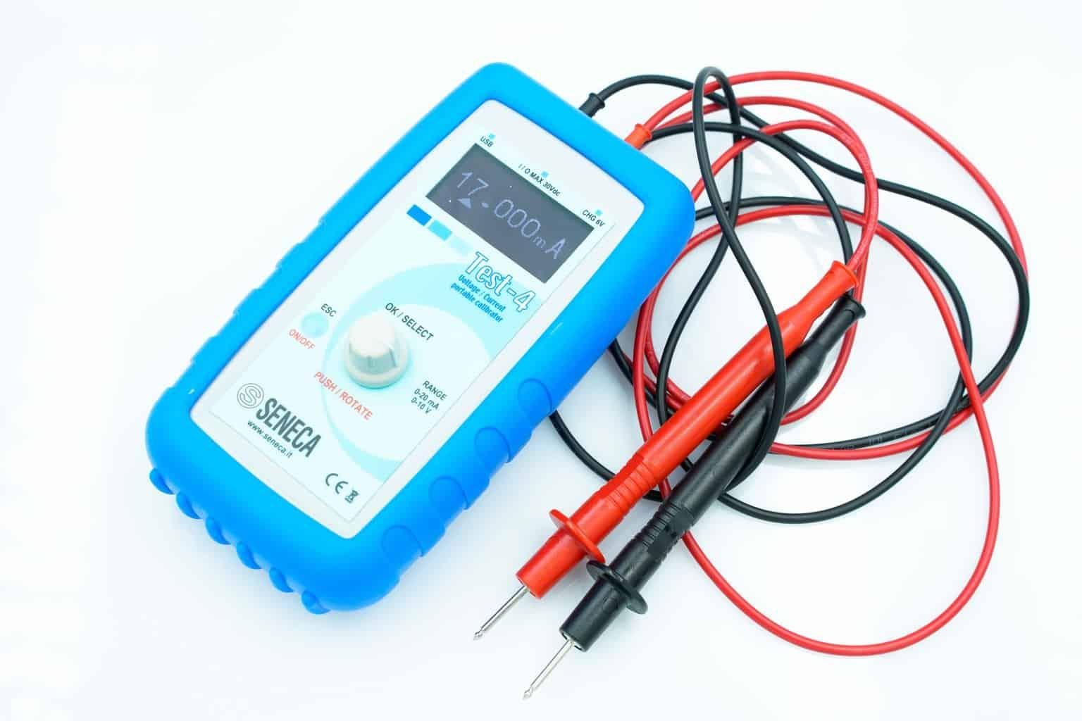 đo dòng - phát dòng 4-20mA Seneca - TEST-4