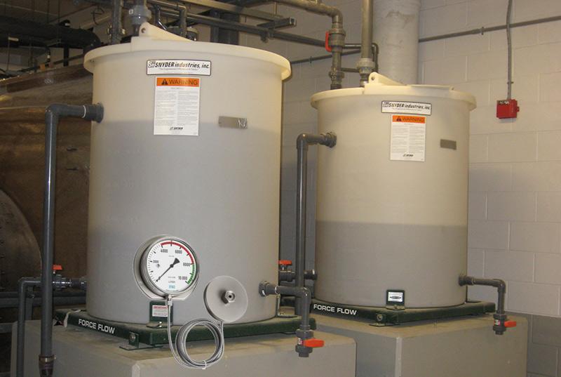 đo mức chất lỏng bằng đồng hồ áp suất