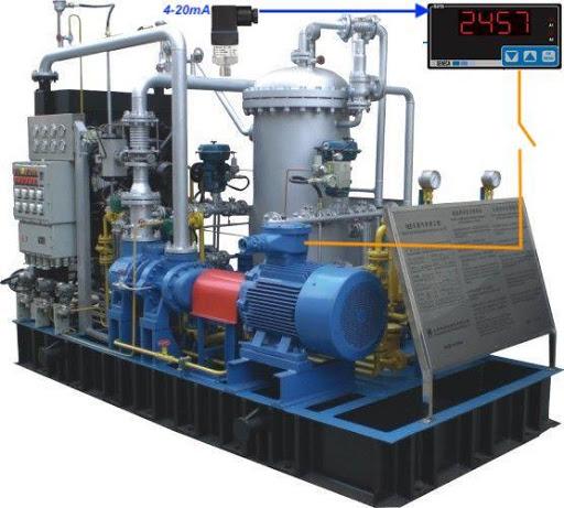 cảm biến áp suất khí nén