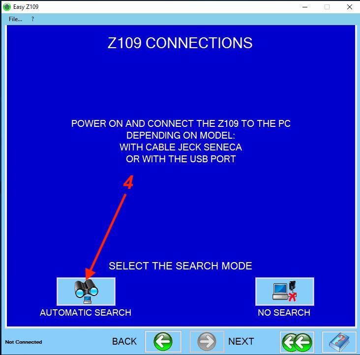 bước 3 cài đặt bộ chuyển đổi Z109REG-1