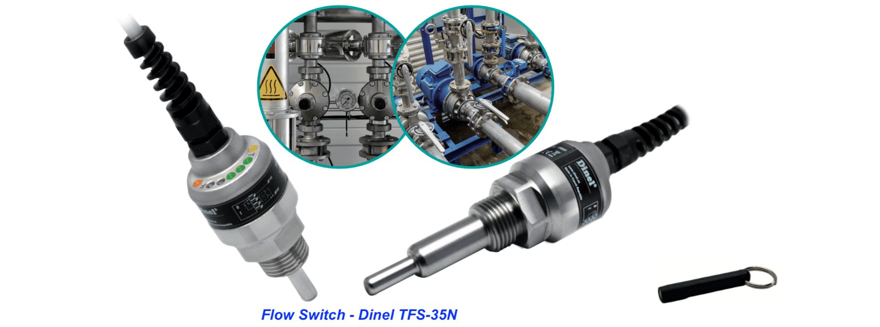 ứng dụng công tắc dòng chảy điện tử TFS-TFS-35N