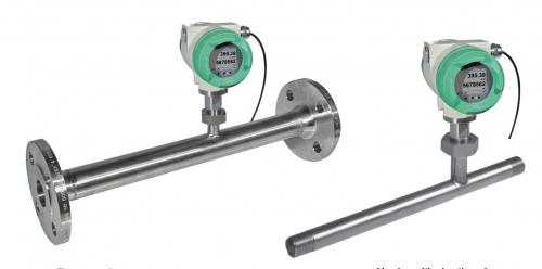 đồng hồ đo lưu lượng khí nén điện tử