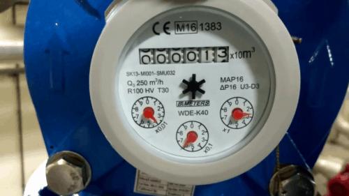 đồng hồ đo lưu lượng nước dạng cơ