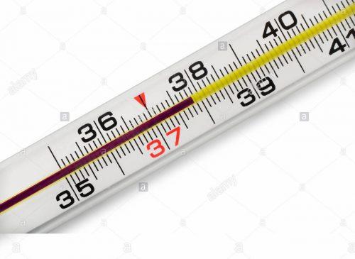 thuỷ ngân đo nhiệt độ cơ thể người