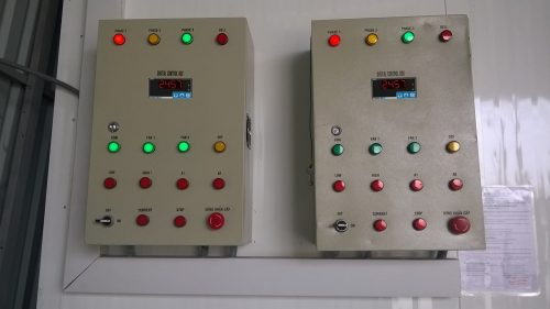 tủ điều khiển áp suất máy nén khí