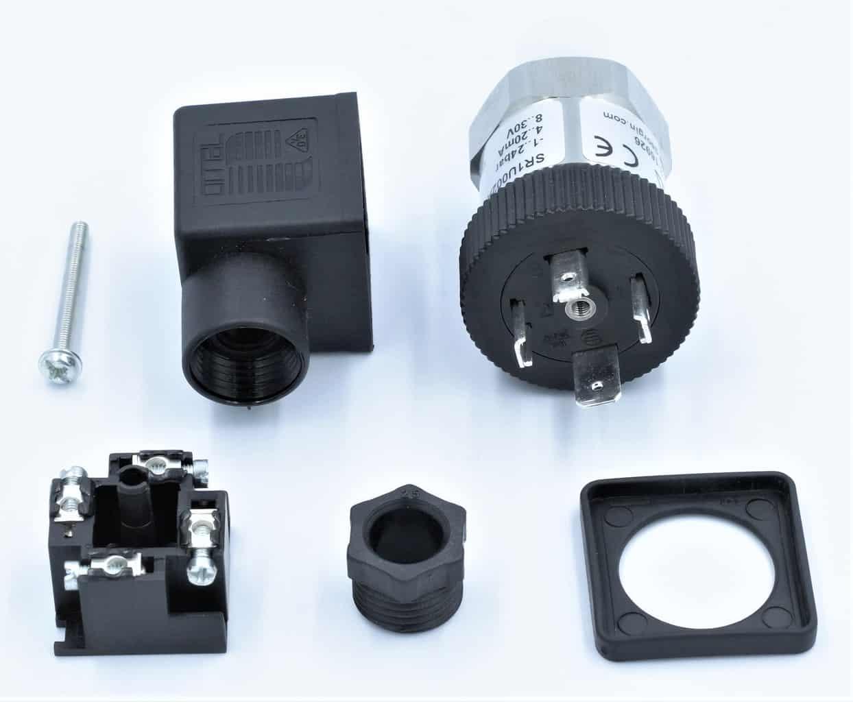 Cấu tạo của cảm biến áp suất SR1 0-4 bar
