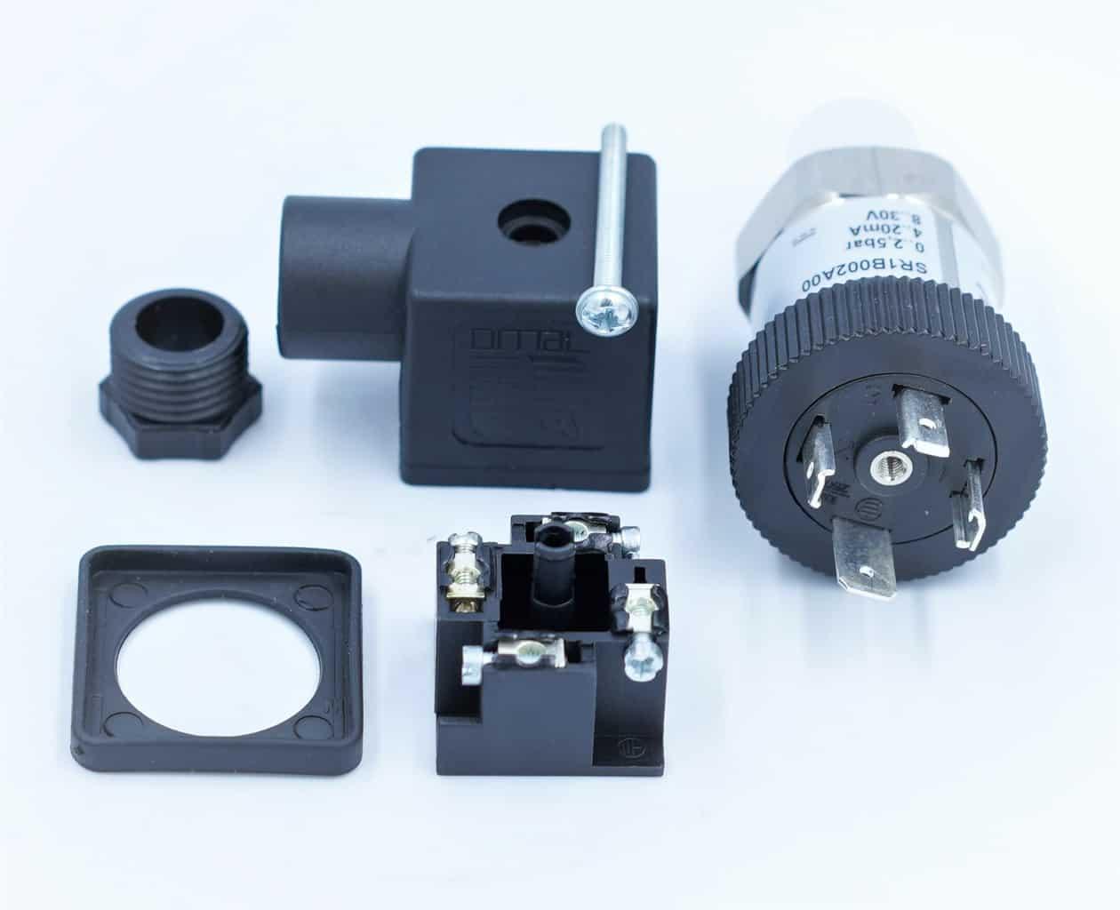 Cấu tạo của cảm biến áp suất SR1 0-6 bar SR1D002A00
