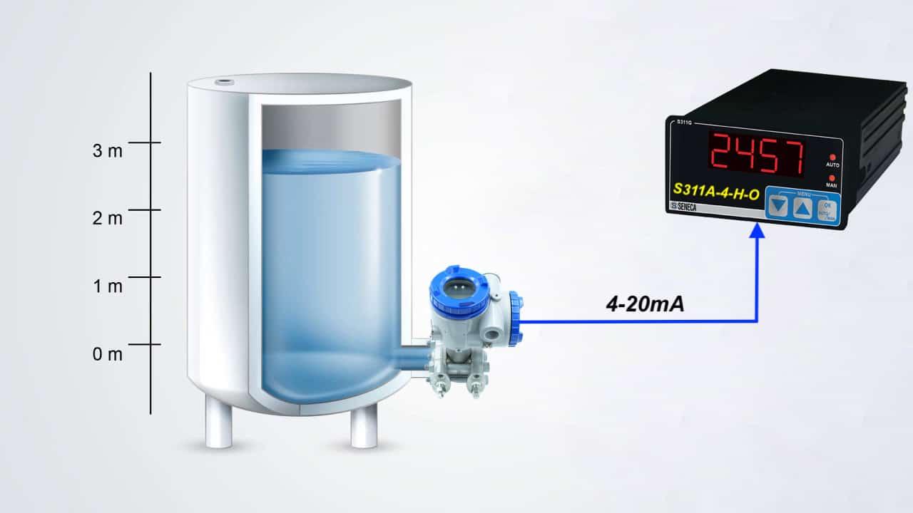 ứng dụng cảm biến chênh áp FKC đo mức nước tank hở