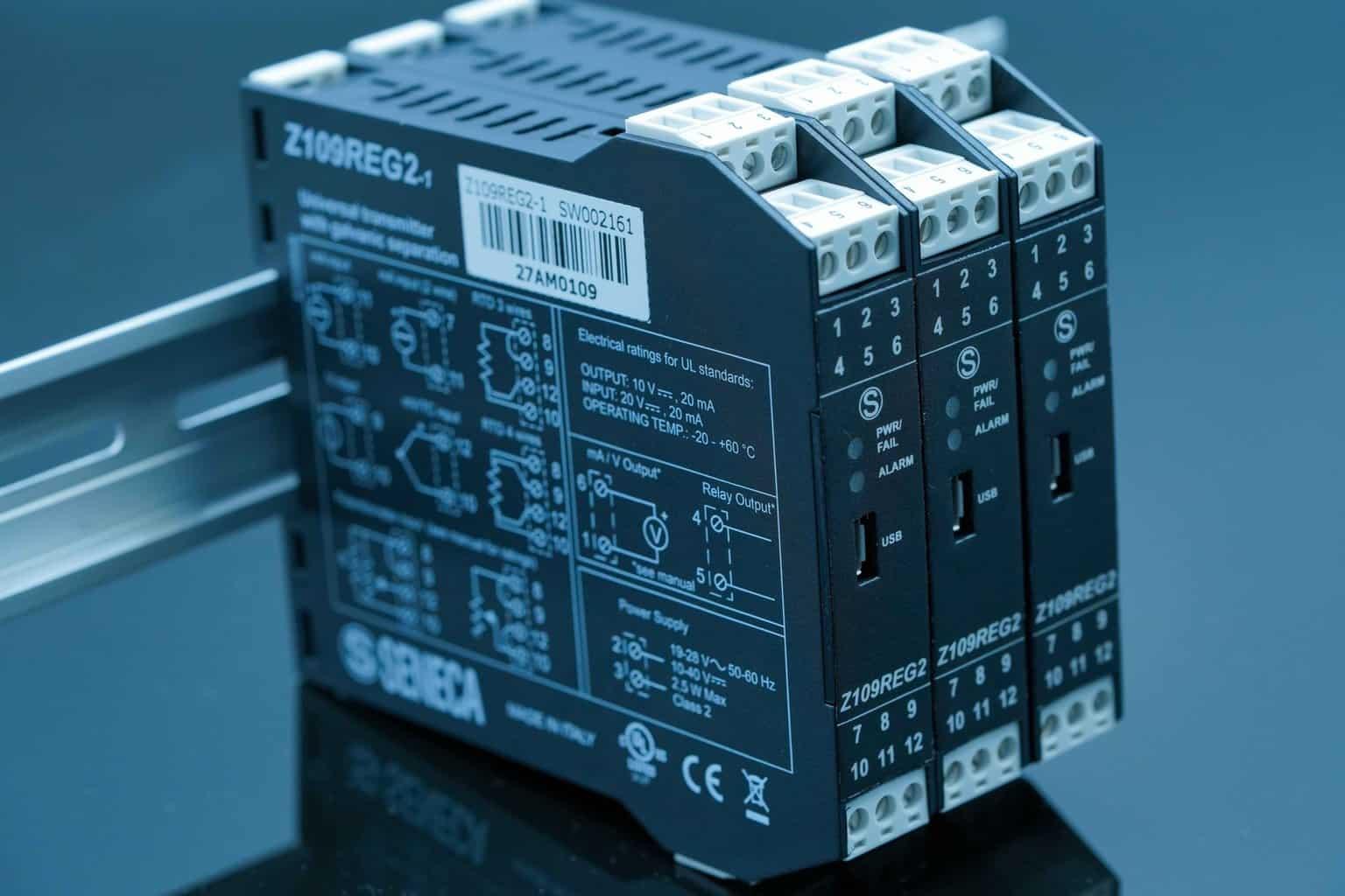 Bộ chuyển đổi tín hiệu đa năng Z109REG2-1 | Seneca - Italy