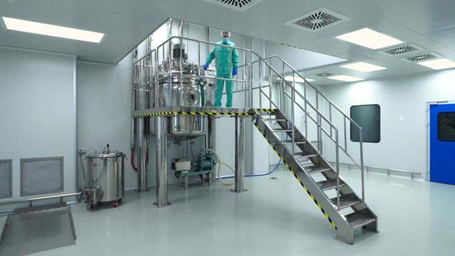 Lắp đặt cảm biến nhiệt độ pt100 LR1P3B6500GBA20 trong phòng sạch