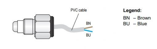 Cáp kết nối cảm biến đo mức nước CNP-18