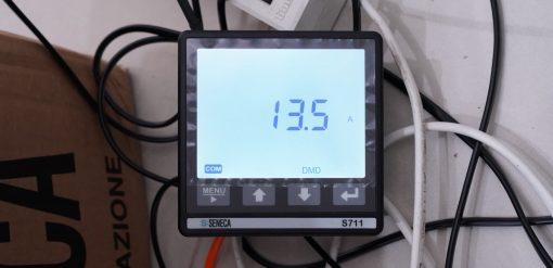 S711 hiển thị dòng điện