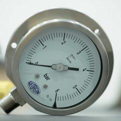 đồng hồ áp suất gắn tủ điện