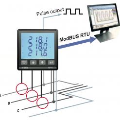 đồng hồ đo công suất