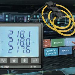 đồng hồ đo công suất điện năng 3 pha