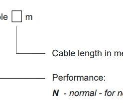 Mã code cảm biến đo mức FLD-48N